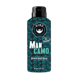 GIBS MAN CAMO – Aeroszolos Test Spray