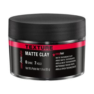 STYLE SEXY HAIR MATTE CLAY – Matt, közepes tartású formázó paszta