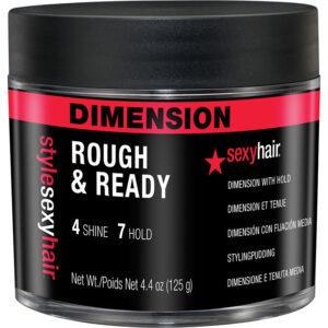 STYLE SEXY HAIR ROUGH & READY – Tincseket kiemelő formázó paszta