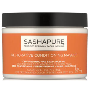SASHAPURE RESTORATIVE CONDITIONING MASQUE – Hajmaszk