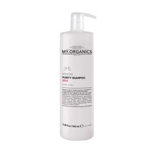 MY.ORGANICS Purity Shampoo / Mélytisztító Sampon
