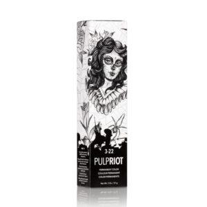 PULP RIOT-FACTION8-Professzionális Hajfesték Sötétbarna/ Intenzív Lila 3-22