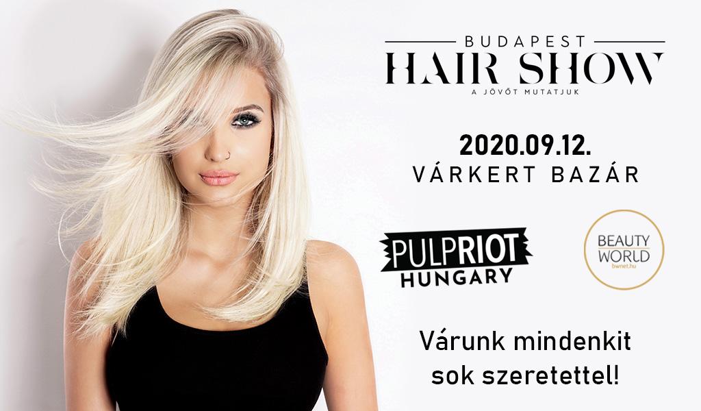 A Budapest Hair Shown debütál a Pulp Riot Faction8 festékcsalád
