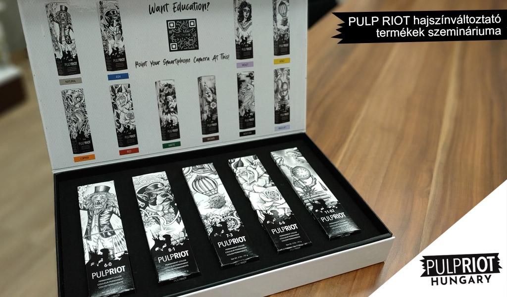 Hatalmas siker volt a PULP RIOT hajszínváltoztató termékek szemináriuma