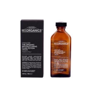 MY.ORGANICS THE ORGANIC RESTRUCTURING FLUID POTION – Organikus hajszerkezet helyreállító szérum