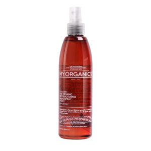 MY.ORGANICS THE ORGANIC RESTRUCTURING SHINE SPRAY – Organikus hajszerkezet helyreállító fényesítő spray