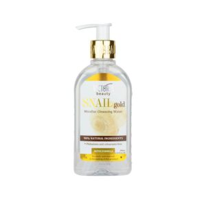VICTORIA BEAUTY SNAIL GOLD MICELLAR CLEANSING WATER – Micellás víz